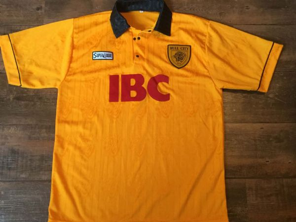1995 1997 Hull City Home Football Shirt Adults Large